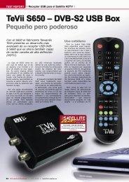 Pequeño pero poderoso TeVii S650 – DVB-S2 USB Box