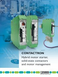 CONTACTRON Hybrid motor starter, solid-state contactors and ...