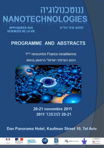 Programme Abstracts - The French Scientific Office for Cooperation ...