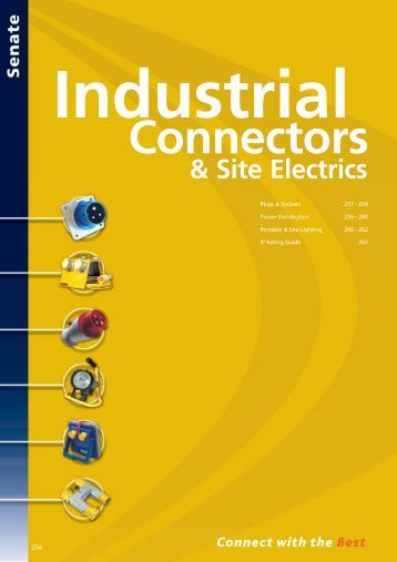 Industrial Connectors & Site Electrics - WF Senate