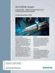 programSYNC – Effiziente Programmierung für komplexe - Siemens