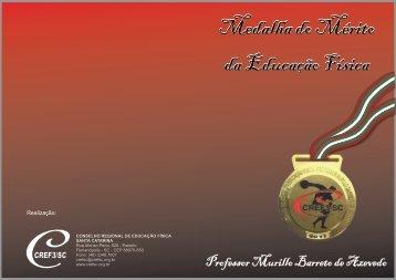 Medalha do Mérito da Educação Física - CREF/SC