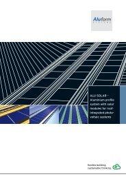 ALU SOLAR - Aluform System GmbH & Co. KG