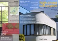 at High Cross House - The Dartington Hall Trust