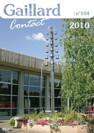 Contact - Ville de Gaillard