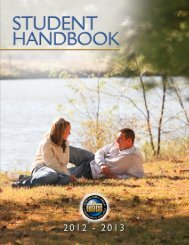 Student Handbook - North Iowa Area Community College