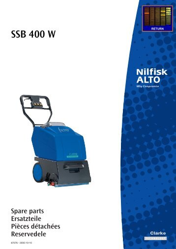 SSB 400 W - Wap Nilfisk Alto Shop