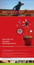 Neue Ideen für die junge Mediengeneration - Infomedia-sh.de