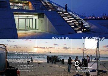 Info-Flyer zur Film Commission der FFHSH - Infomedia-sh.de