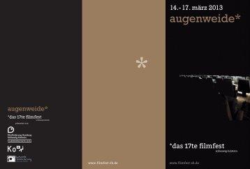 Programmübersicht als PDF - Infomedia-sh.de