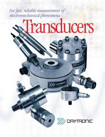 60 magazines from daytronic com the series product brochure daytronic corporation