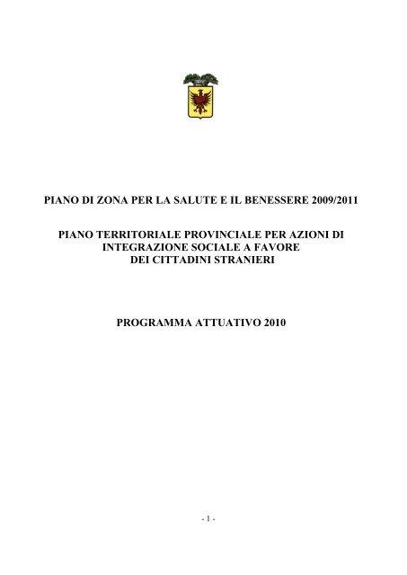 Piano Immigrazione Comune Di Ravenna