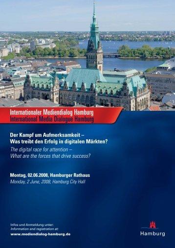 Internationaler Mediendialog Hamburg ... - Infomedia-sh.de