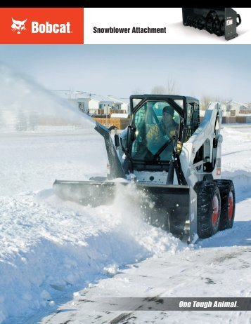 Snowblower Attachment - Doosan BobCat Chile
