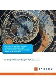 Strategie Dividendových výnosů CZK.pdf - Cyrrus