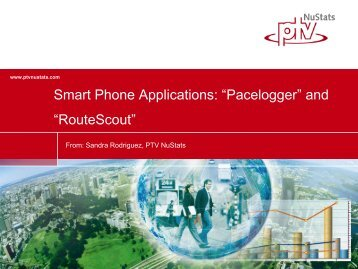 "Smart Phone Applications: ""Pacelogger"" and ... - TMIP Online"