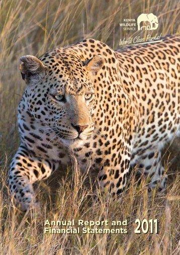 KWS Annual Report 2011 - Kenya Wildlife Service
