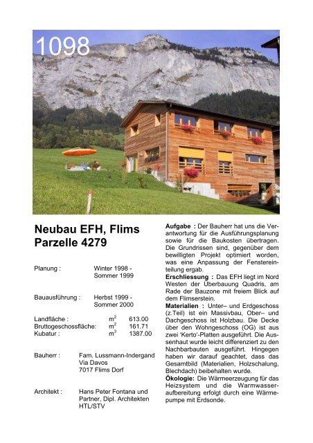 """EFH """"Quadris"""" - Fontana und Partner"""