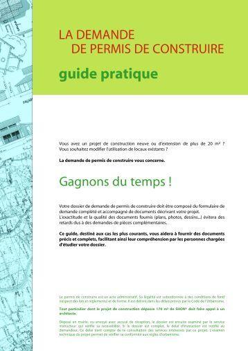 Permis de construire pour maison individuelle for Guide permis de construire