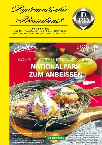 OKTO ber 2010 1050 Wien - Nikolsdorfer Gasse 1 - Diplomatischer ...
