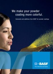 We make your powder coating more colorful.