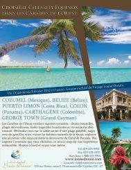Croisière Celebrity Equinox dans les Caraïbes de l'Ouest Croisière ...