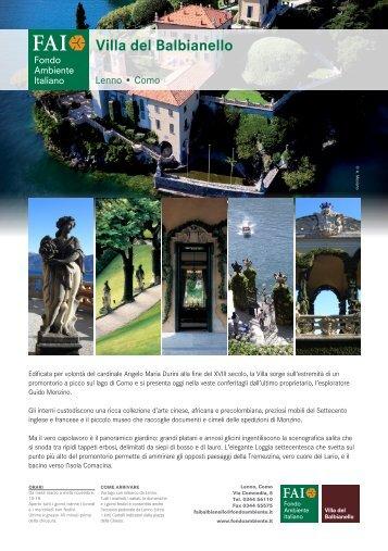 Villa del Balbianello - Fai