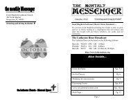 October newsletter 2012 - Good Shepherd Lutheran Church