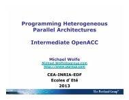 Intermediate OpenACC Part 2 - The Portland Group