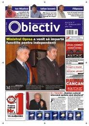 Ministrul Oprea a venit să împartă funcţiile pentru ... - Obiectiv