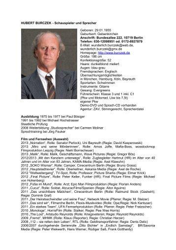 Vita 05/2013 (PDF Datei) - bei Hubert Burczek