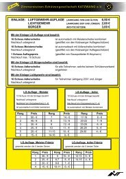 EiNLAGE: LUFtGEWEHR-AUFLAGE (JAHRGANG 1956 UND äLtER ...