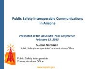 Public Safety Interoperable Communications Office - AESA