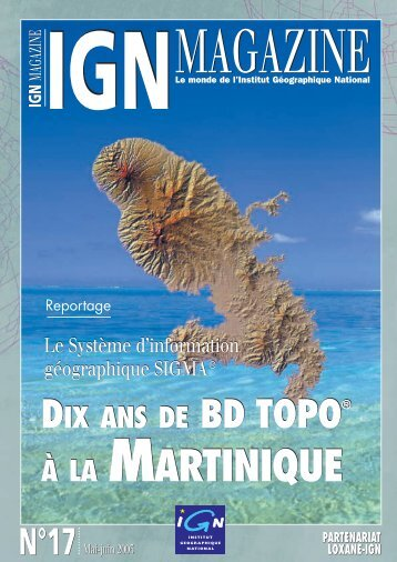 À LA MARTINIQUE À LA MARTINIQUE - Education - Ign