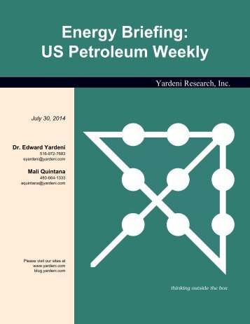 Energy Briefing: US Petroleum Weekly