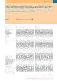 Propofol Sedation in Outpatient Colonoscopy by Trained ... - bng