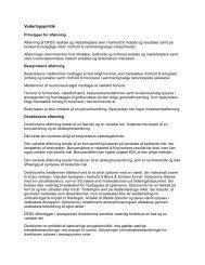 Vederlagspolitik - DFDS