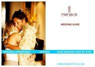 Wedding guide Manava Suite Resort Tahiti 2012