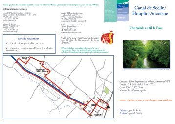 Canal de Seclin/ Houplin-Ancoisne - Service navigation du Nord ...
