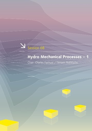 Hydro Mechanical Processes - 1 - Andra