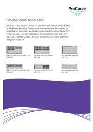 ProCurve Switch 4200vl Serie