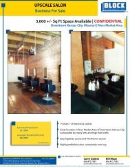 Upscale Salon (The Glam Room).indd - Block and Company