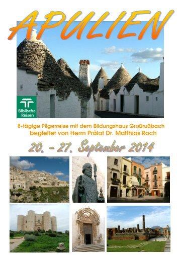 FOLDER_ NEAPEL 10.12.13 - bei Biblische Reisen Österreich