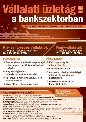 Kis- és Közepes Vállalatok Nagyvállalatok - Konferenciakalauz