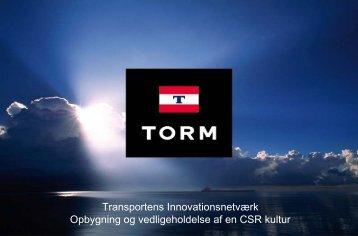 Opbygning og vedligeholdelse af en CSR kultur - Transportens ...