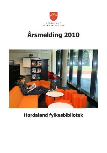 Årsmelding 2010 - Hordaland fylkeskommune