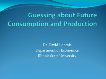 Economics of Energy Industries - Department of Economics - Illinois ...
