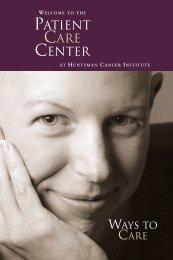 patient care center - Huntsman Cancer Institute - University of Utah