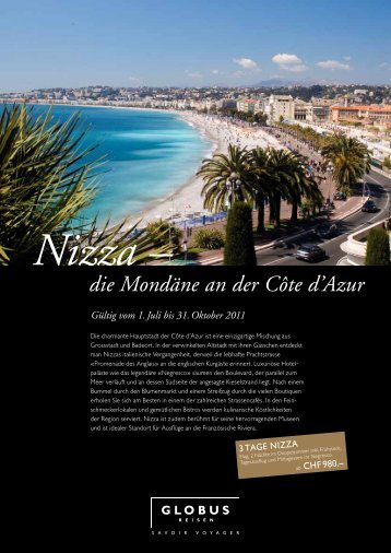 Nizza – die Mondäne an der Côte d'Azur - FRI Travel