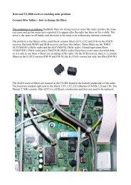 Kenwood TS-2000 receiver crackling noise problem ... - K2DSL